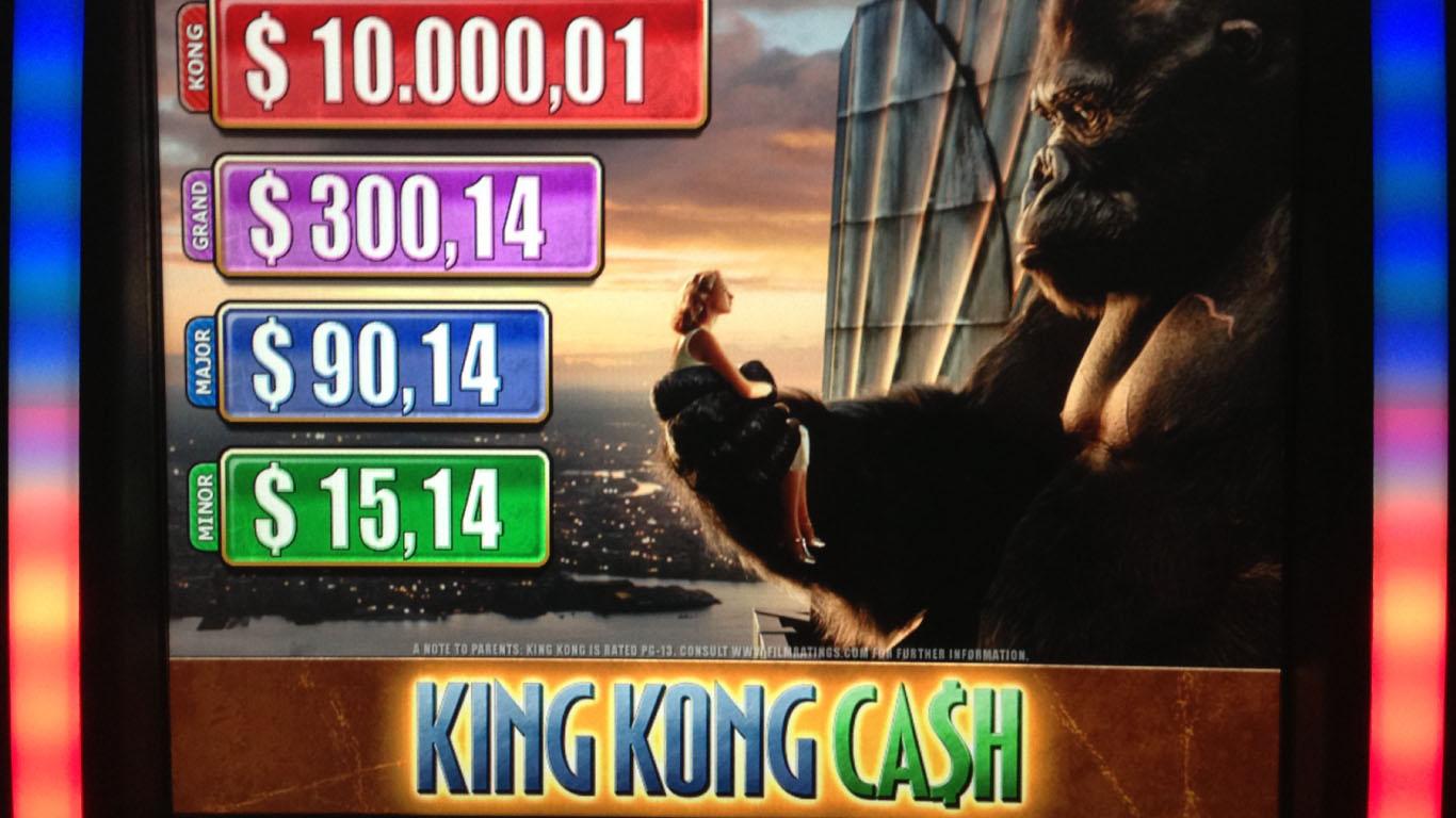 Slot machine king kong